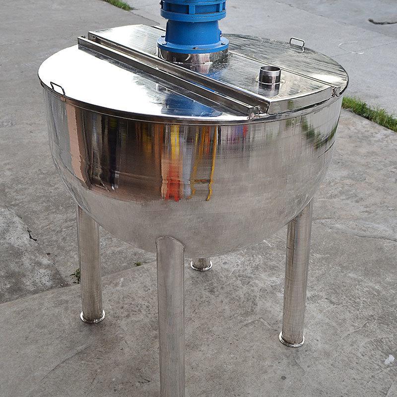 1000L單層不鏽鋼攪拌鍋液體膏體攪拌桶果醬夾套攪拌鍋