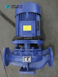 自贡自泵水泵厂铸铁立式管道离心泵立式增压泵