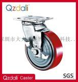 重型镀锌铁芯PU脚轮