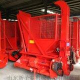 吉林省玉米秸秆粉碎回收机 带料筐自卸回收机