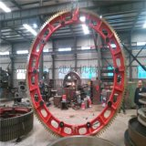 大型对开式铸钢水泥回转窑大齿轮