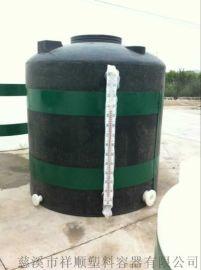 15吨纯水罐,宁波15立方塑料水塔,塑料污水罐