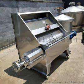 山东越源环保斜筛式304不锈钢固液分离机