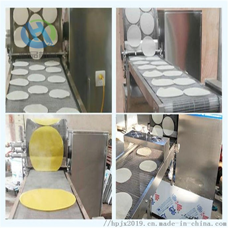 商用蛋皮机 烤鸭饼设备  省人工单饼机