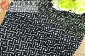 涤棉提花布双面提花布针织提花布