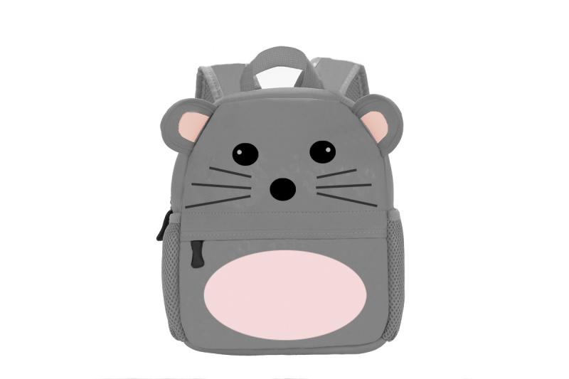 2020小老鼠揹包書包學生包兒童揹包廣告包定製上海方振