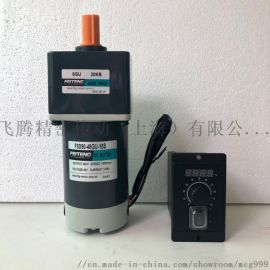 飞腾12V24V48V直流调速刹车减速电机
