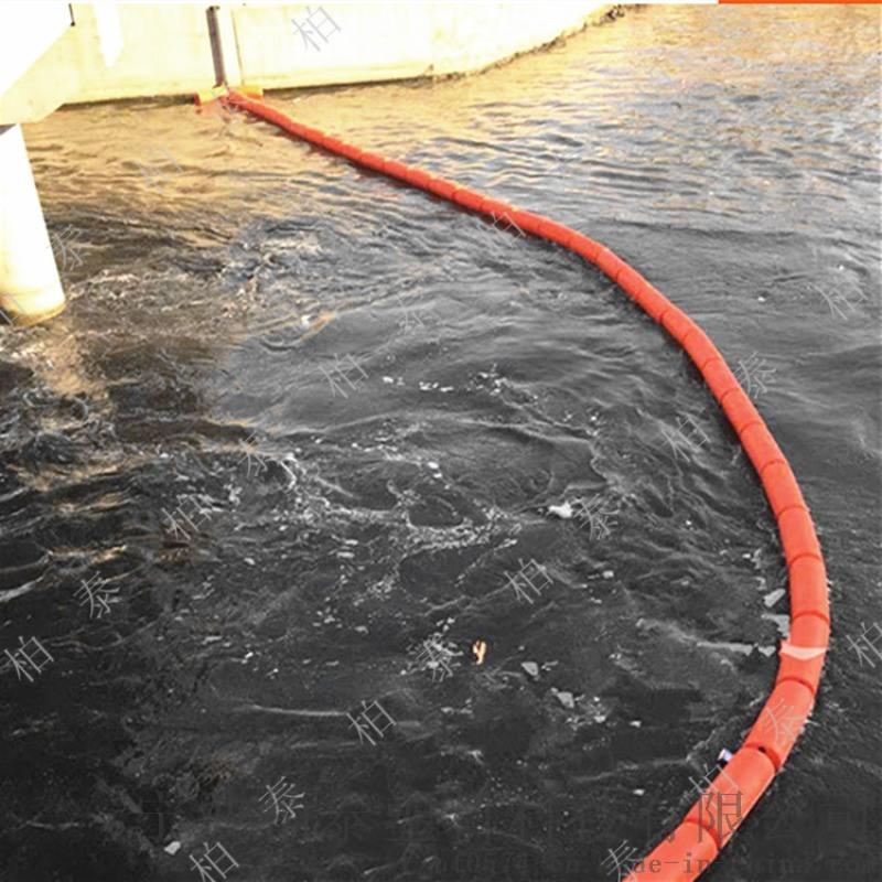 食品绿色拦污浮筒水质净化检测使用