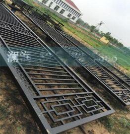加工定做锌钢护栏 厂区锌钢围栏 学校围墙护栏网 烤漆工艺