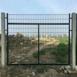 铁路金属防护栅栏 浸塑铁丝网围栏 高速公路护栏网