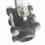 碳鋼三片式球閥 DN32 3PC球閥