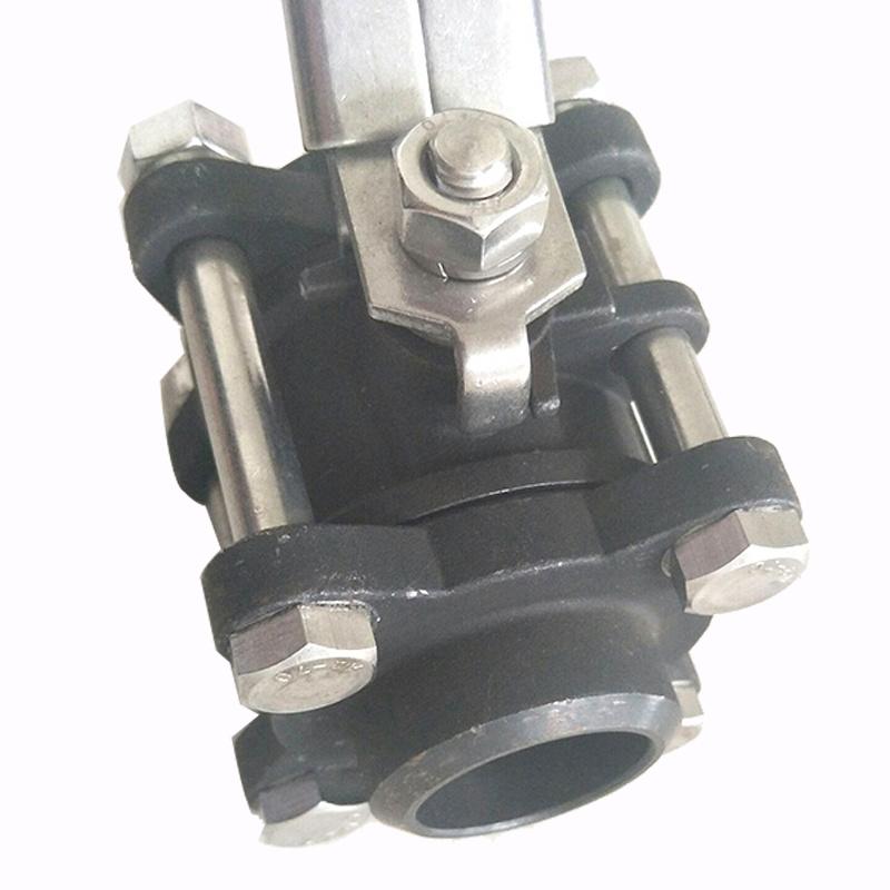 碳钢三片式球阀 DN32 3PC球阀