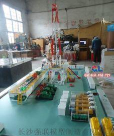 钻机模型 石油钻井流程教学沙盘 石油勘探钻井