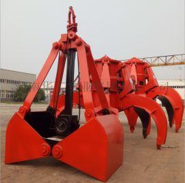 供应各种起重机配件 X10轻型1立方单绳悬挂抓斗