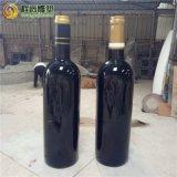 厂家直销玻璃钢仿真红酒瓶 仿真葡萄酒瓶