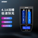XTAR ST2雙槽鋰電池4.1A快速充電器