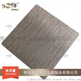 佛山厂家供应304拉丝不锈钢彩色板