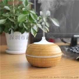 新款跨境木纹香薰加湿器USB香薰机加湿器 家用小电创意加湿器**
