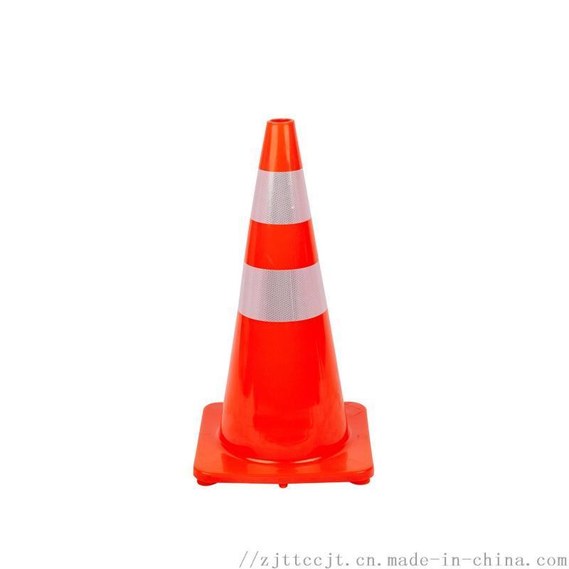 交通设施PVC反路锥反光圆锥路锥雪花桶全红路锥