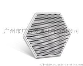 服装设计办公楼造型铝天花/六边形冲孔铝单板厂家