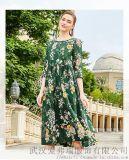 名妹2020春装苎麻新款中长裙服装进货渠道网