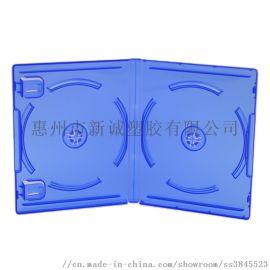 PS4双碟游戏盒游戏光碟收纳盒CD透明光盘壳