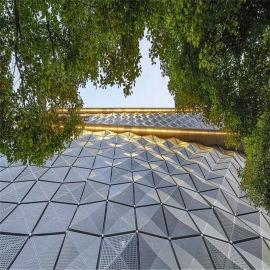 青岛外墙建筑外墙铝单板 3.0厚外墙铝单板效果图