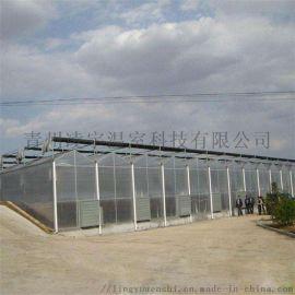 专业建设阳光板玻璃温室阳光板薄膜温室