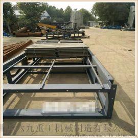 不锈钢链板式输送机 链条输送机 六九重工 异型链板