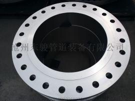 沧州东骏碳钢对焊不锈钢法兰 带颈平焊国标美标法兰片 盲板环松套图