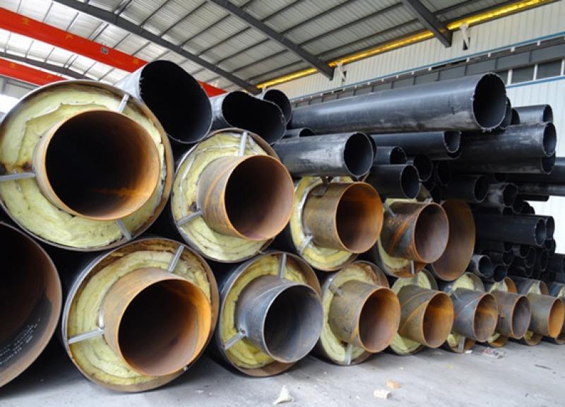 聚氨酯泡沫供热管道直埋保温钢管热力管道