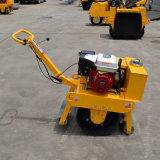 2噸微型壓土機 雙輪壓路機座駕式 嶽工機械