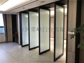 广州写字楼中轴门 氟碳中轴旋转门