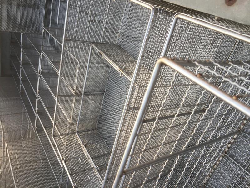 不锈钢消毒提篮*不锈钢收纳篮带盖*不锈钢长方形提篮