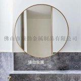 不锈钢圆形镜框