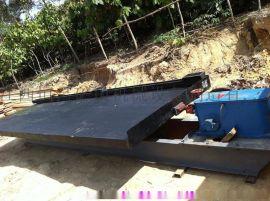 安徽供应废塑料回收摇床 4.5米大槽钢摇床 水摇床
