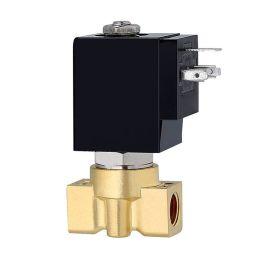 进口黄铜水用电磁阀-自来水-冷却水-雨水