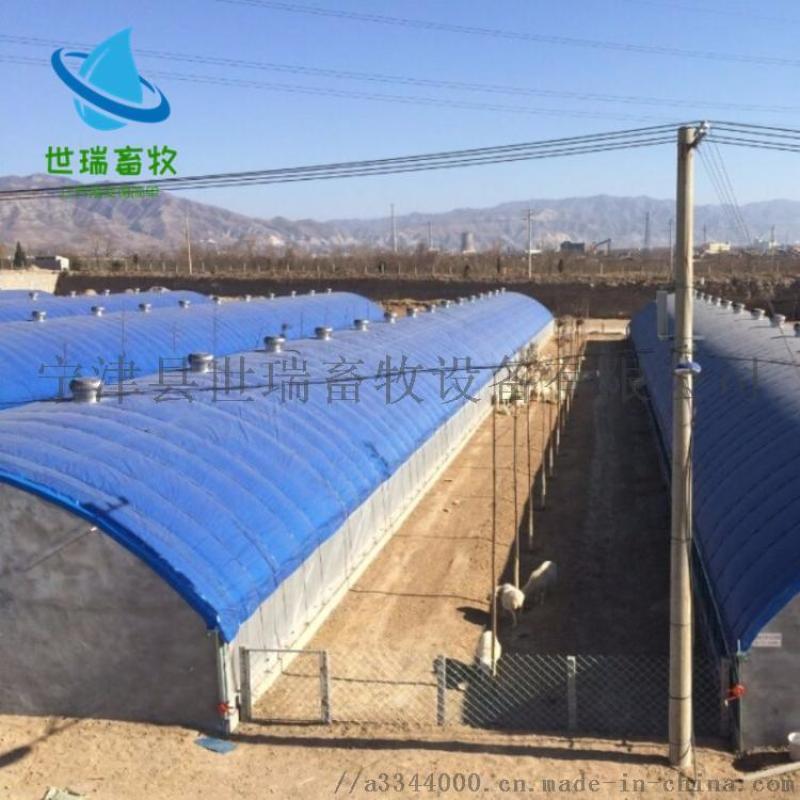 養豬棚搭建 東北豬棚建設廠家 寧津縣世瑞畜牧設備