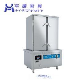 三门燃气蒸海鲜机器 三层电力蒸海鲜炉 节能三门电磁海鲜蒸柜