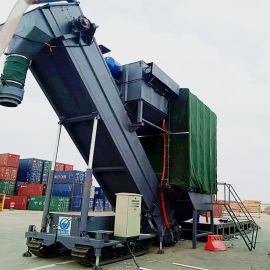 通畅翻箱卸灰机厂家 盘锦铁运集装箱粉料中转设备