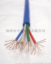 煤矿阻燃通信电缆监控线四芯信号线
