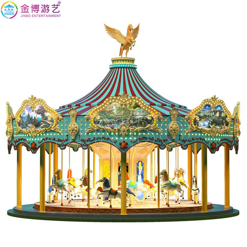 遊樂園遊樂場經典熱銷親子互動遊樂設施歐式轉馬廠家