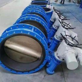 科科天津法兰电动蝶阀d941x三线380v