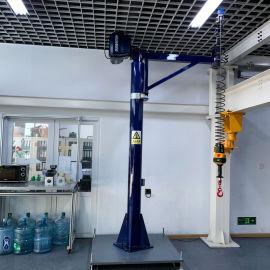 铝合金轨道kbk智能提升机 自立式组合式智能悬臂起重机