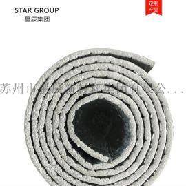 编织布镀铝膜复合XPE泡棉 高强度 防潮保温隔热层