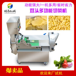**率电动切丁机 蔬菜无花果切丁机 操作简单