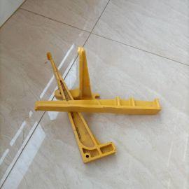 电缆托架模压电缆沟玻璃钢电缆梯子架