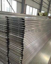 300面高边加油站吊顶防风铝条扣/铝扣板生产厂家