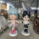 玻璃钢卡通人物雕塑 动漫人物雕塑