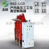 戶內一體式三工位真空斷路器WSD-12GD